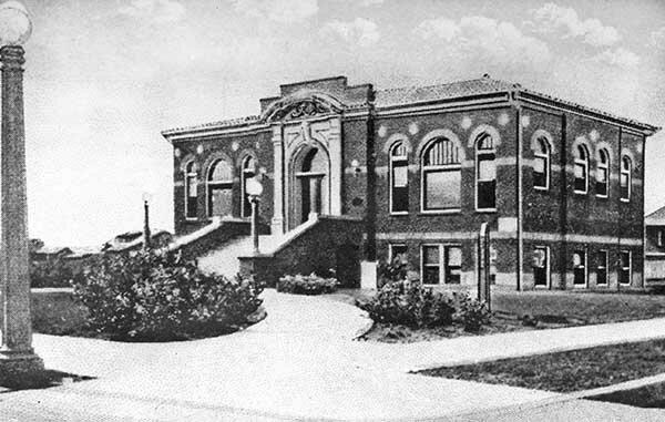 Carnegie Libraries Of California Huntington Beach California