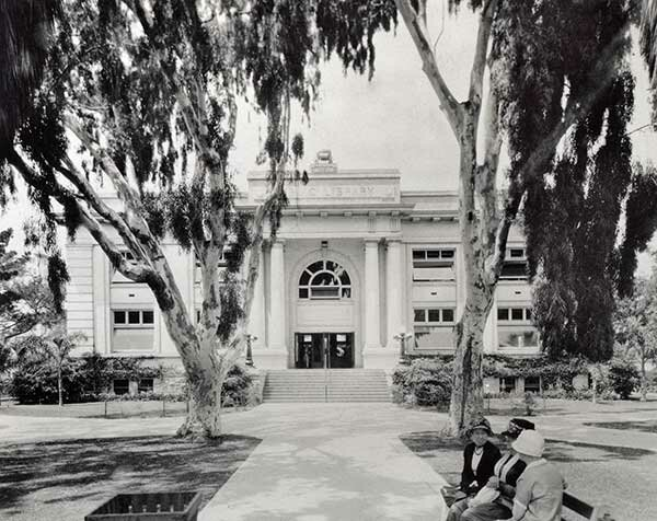 Courtesy Of Long Beach Public Library And Information Center